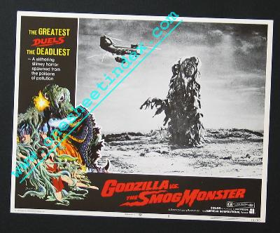 Godzilla vs the Smog Monster