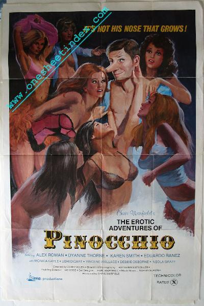 Erotic Adventures of Pinoccio
