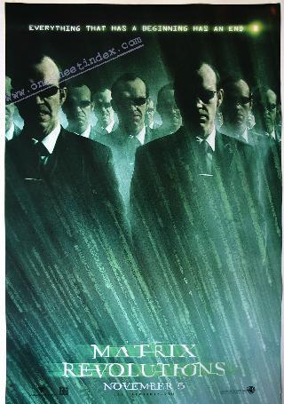 Matrix 3: Revolutions