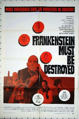 Frankenstein 5: Must Be Destroyed