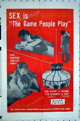 Sex Is The Game People Play