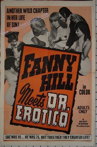 Fanny Hill: Dr Erotico