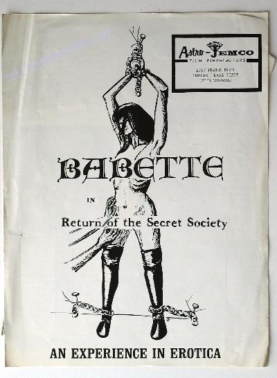 Babette: Return of the Secret Society