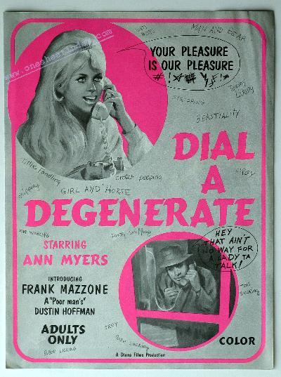 Dial A Degenerate