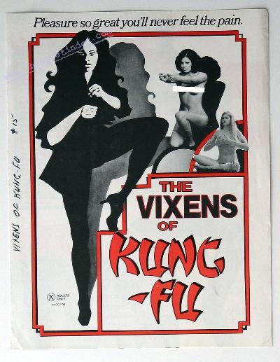 Vixens of Kung Fu
