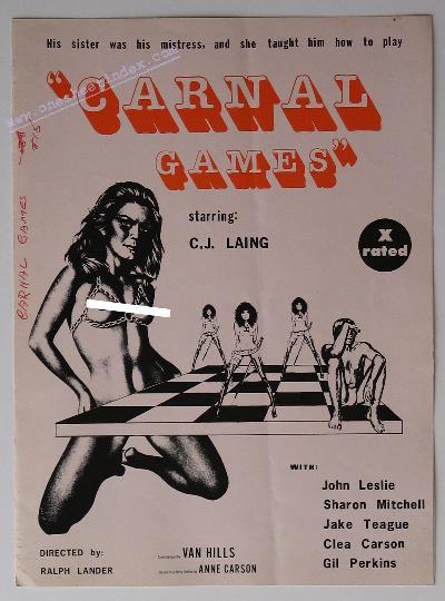 Carnal Games