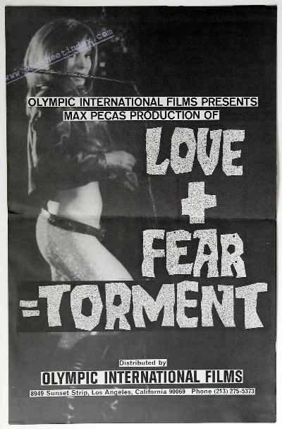 Love + Fear = Torment