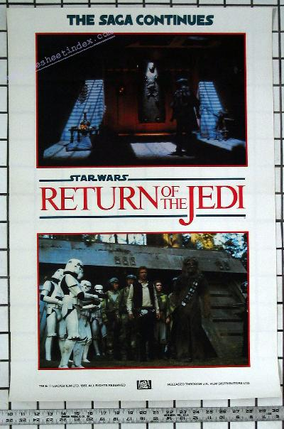 Star Wars 6: Return of the Jedi