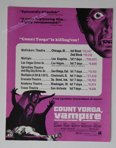 Count Yorga Vampire