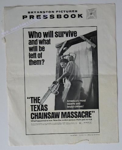Texas Chainsaw Massacre 1 '74