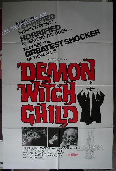 Demon Witch Child