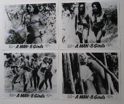Man and 8 Girls