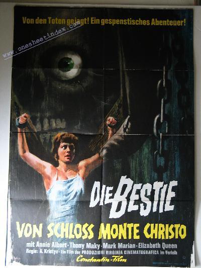 Die Bestie Von Schloss Monte Christo