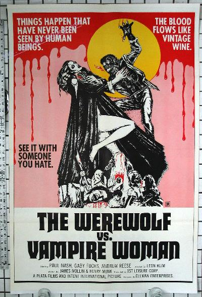 Werewolf vs the Vampire Woman