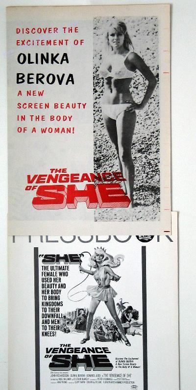 She 2: Vengeance Of She