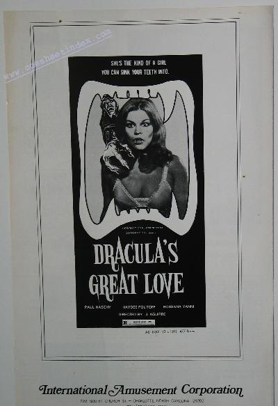 Dracula's Great Love