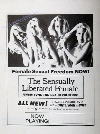 Sensually Liberated Female