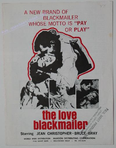 The Love Blackmailer
