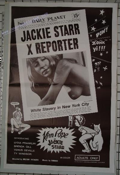 Jackie Starr X Reporter