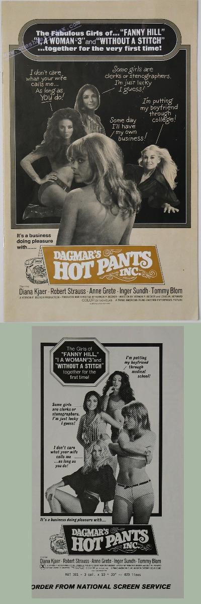 Dagmar's Hot Pants Inc