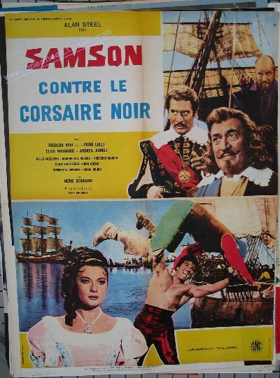 Samson contre le Corsaire Noire