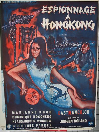 Espionnage a Hong Kong