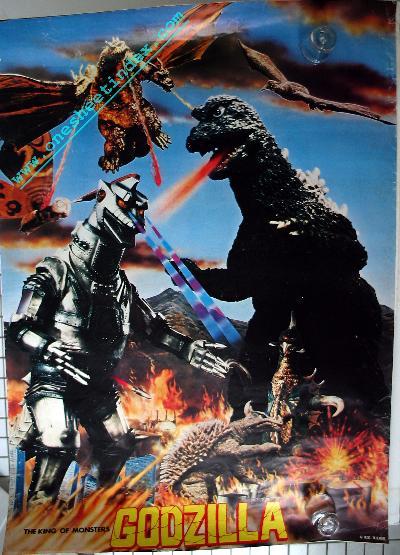 Godzilla DVD III